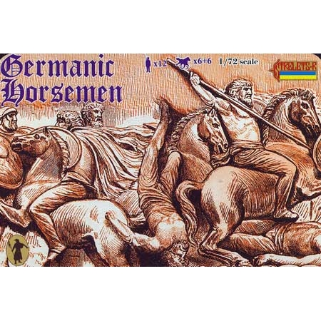 Strelets 1/72 Germanic Horsemen # 0098