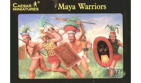 CAESAR MINIATURES 1/72 MAYA ARMY WARRIORS # 027