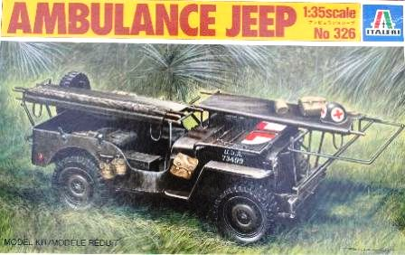 Italeri 1/35 Ambulance Jeep # 0326