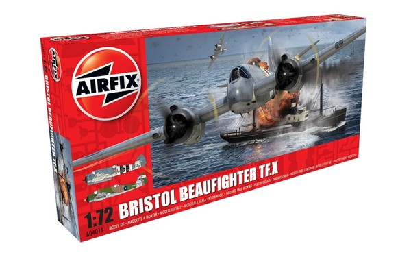 Airfix 1/72 Bristol Beaufighter Mk.X # 04019