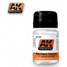 AK Interactive Растворитель ODORLESS TURPENTINE 35 mL (скипидар без запаха) # 049