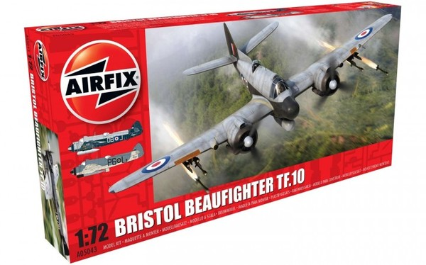 Airfix 1\72 Bristol Beaufighter Mk.X Late/TF.10 # 05043