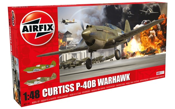 Airfix 1/72 Curtiss P-40B Warhawk # 05130