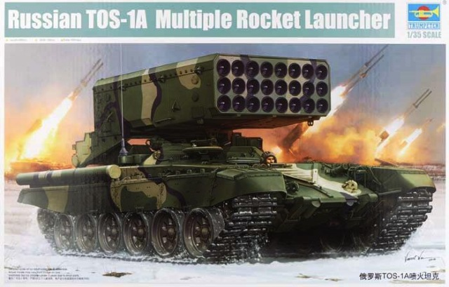 Trumpeter 1/35 Russian TOS-1A Multiple Rocket Launcher # 05582