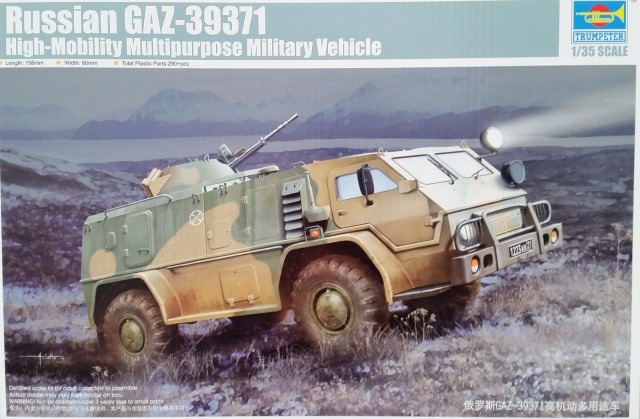 Trumpeter 1/35 Russian GAZ39371 High-Mobility Multipurpose Military Vehicle # 05594