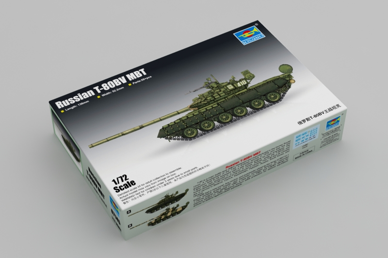 Trumpeter 1\72 Russian T-80BV MBT № 07145
