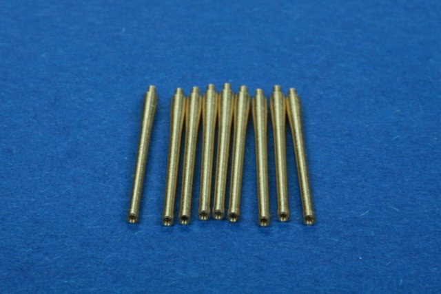 RB model 1/350 French gun barrels (9 x 152mm M-1936/C1930) # 350L09