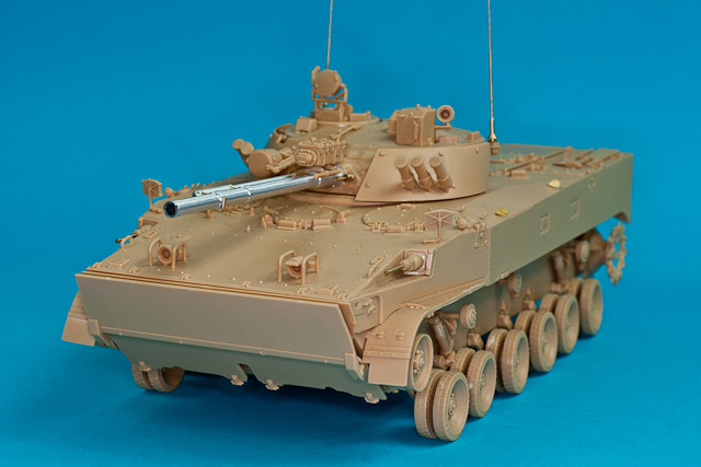 RB model 1/35 BMP-3 Armament  30mm 2A72, 100mm 2A70,  3 x 7.62 PKT mg # 35B110