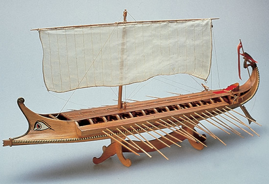 Amati 1/35 Greek Bireme # 1404