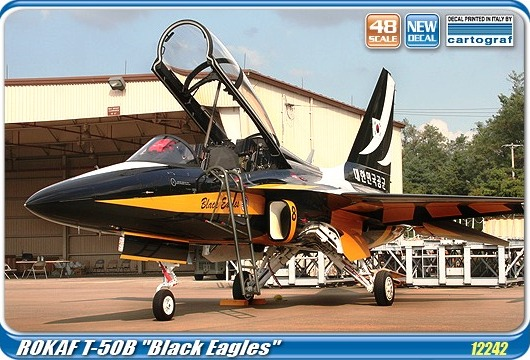 "Academy 1/48 ROKAF T-50B ""Black Eagles"" # 12242"