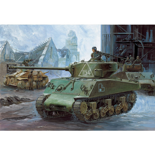 Academy 1/35 M4A2 SHERMAN RUSSIAN ARMY # 13010
