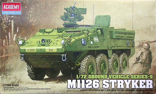 Academy 1/72 M1126 Stryker Ground Vehicle Series-9 # 13411