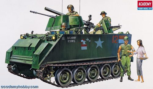 Academy 1/35 M-113 Vietnam Version # 1389