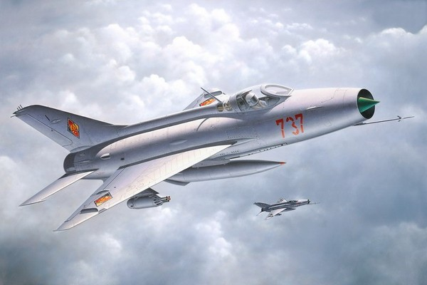 Revell 1\72 MiG 21 F-13 Fishbed-C (aircraft of the first German in Space) # 04346