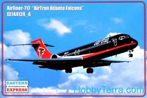 Eastern Express 1/144 Airliner Boeing B-717 AirTran Falcons # 144124-4