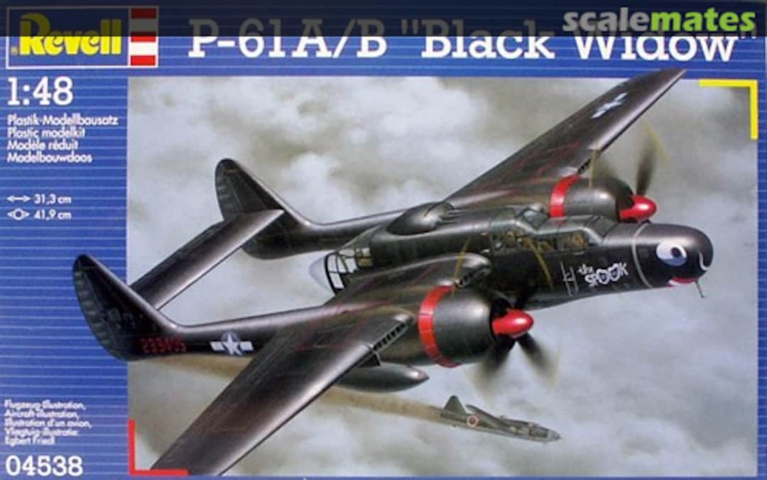 "Revell 1\48 P-61 A/B ""Black Widow"" # 04538"