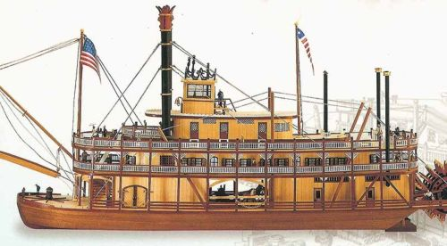 Artesania Latina 1/80 KING OF THE MISSISSIPPI # 20505