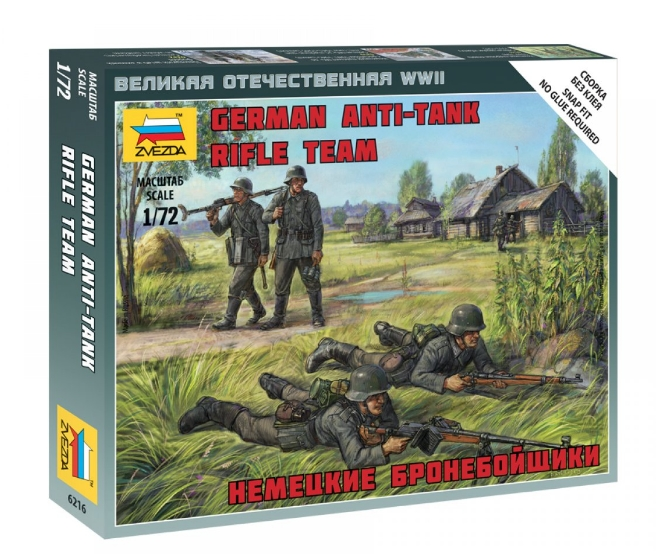 Zvezda 1/72 German Anti-Tank Rifle Team # 6216