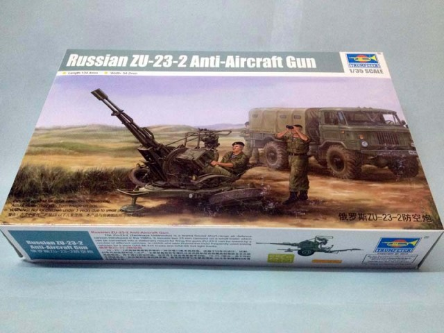 Trumpeter 1/35 Russian ZU-23-2 Anti-Aircraft Gun # 02348