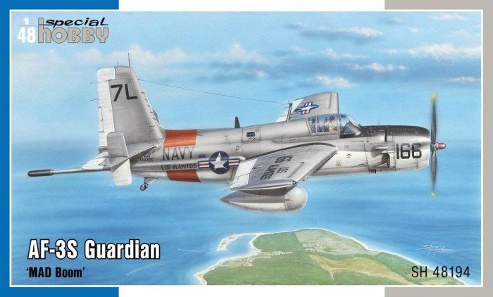 "Special Hobby 1\48 AF-3S Guardian ""MAD Boom"" # 48194"