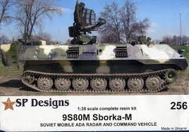 SP Design 1/35 Sborka-M 9S80M 'Dog Ear' modernization of PPRU-1M on MT-LB chassis # 256