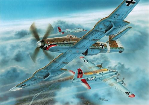 "Special Hobby 1/72 Blohm Voss BV 155B-1 ""Luftwaffe 46 High Altitude Fighter"" # 72372"
