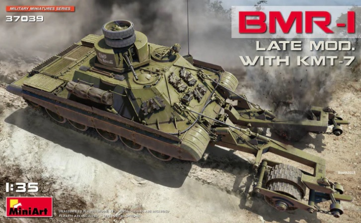 MiniArt 1/35 BMR-1 Late Mod. with KMT-7 # 37039