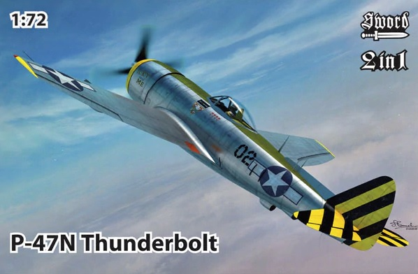 Sword 1/72 Republic P-47N Thunderbolt # 72121