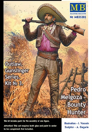 Master Box 1\35 Pedro Melgoza - Bounty Hunter # 35205