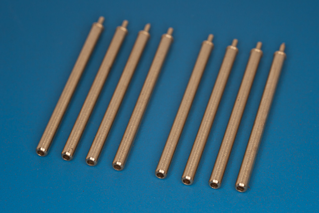 "RB model 1/32 0,5"" (12,7mm) barrels for Browning mg Used on P-47 Thunderbolt # 32AB14"