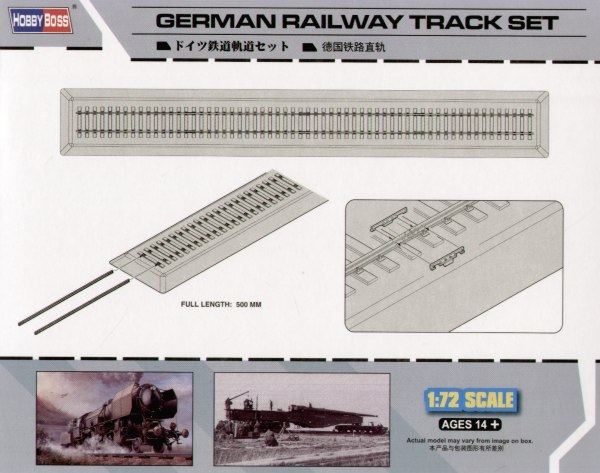 Hobby Boss 1/72 German Railway Track set # 82902