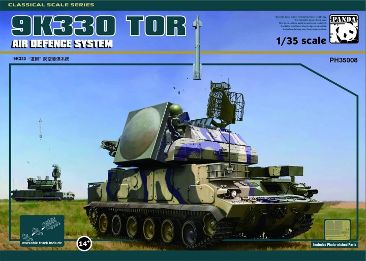 Panda 1/35 Russian TOR-M1 Missile System # 35008