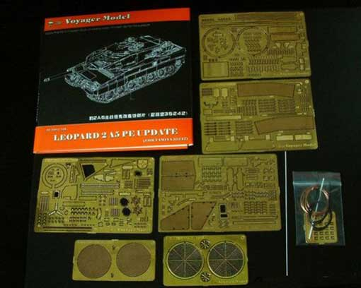 Voyager Model 1/35 Photo Etched set for Leopard 2A5 (For TAMIYA 35242) # PE35011