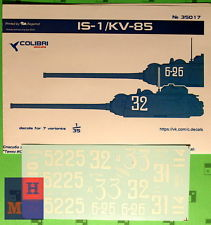 IS-1/KV-85 1/35 Colibri Decals # 35017