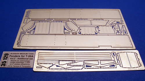 Aber 1/35 Fenders for T-55A-vol.2-additional set (TAM,TRU) # 35129