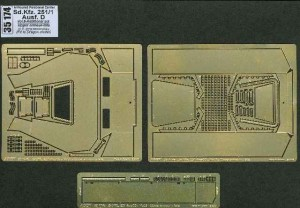 Aber 1/35 Sdkfz.251/1 Ausf.D vol.8 - Additional set - Upper armour - late # 35174