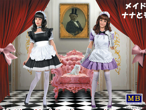 Master Box 1/35 Maid café girls. Nana and Momoko # 35186