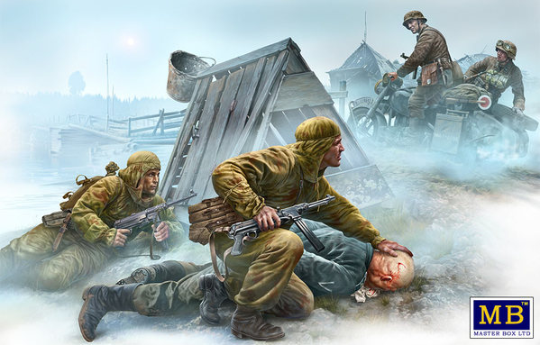 Master Box 1/35 Crossroad, Eastern Front, WWII era # 35190