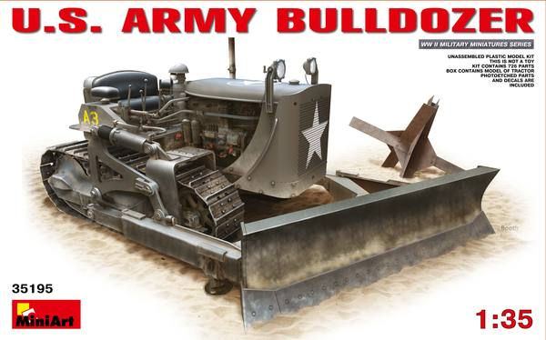 MiniArt 1/35 U.S. ARMY BULLDOZER # 35195