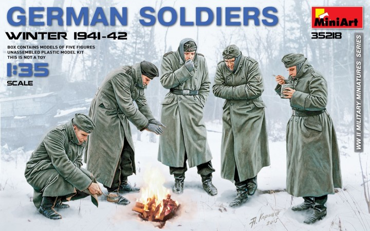MiniArt 1/35 German Soldiers (Winter 1941-42) # 35218