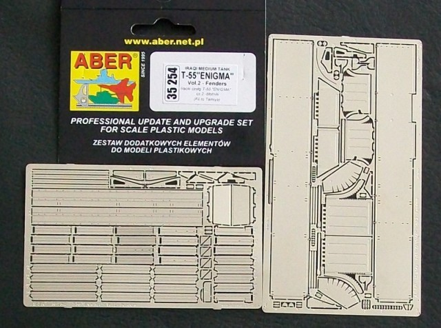 Aber 1/35 T-55 Enigma Vol.2 Fenders for Tamiya kit # 35254