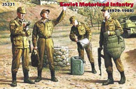 ICM 1/35 Soviet Motorized Infantry (1979-1988) # 35331