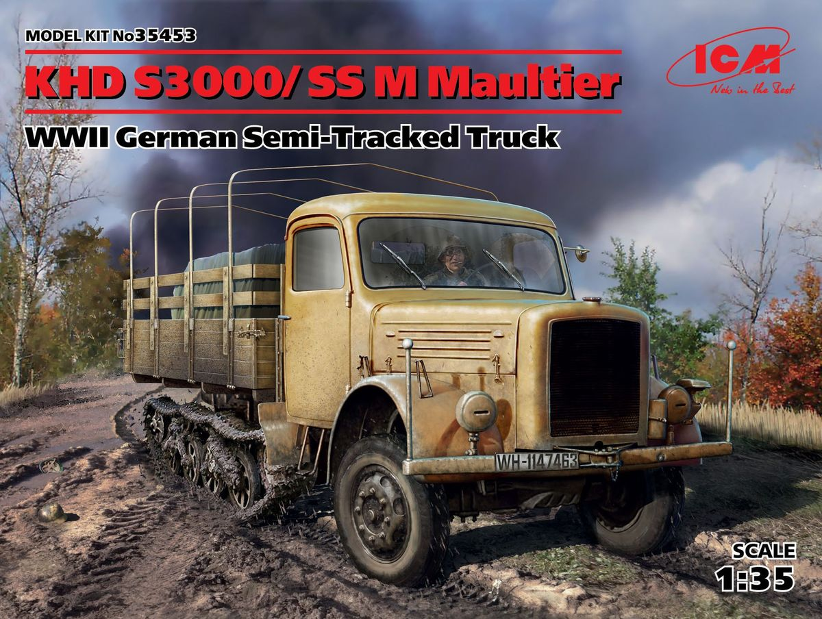 ICM 1/35 KHD S3000/SS M Maultier # 35453