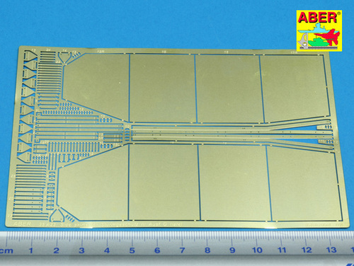 Aber 1/35 Side skirts for Sturmgeschutz III (Late model) # 35A23
