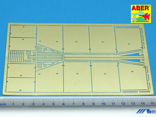Aber 1/35 Side skirts for Sturmgeschutz III (Early model) # 35A022