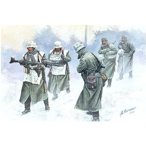 "Master Box 1/35 German Infantry (1941-1945) ""Cold Wind"" # 35103"