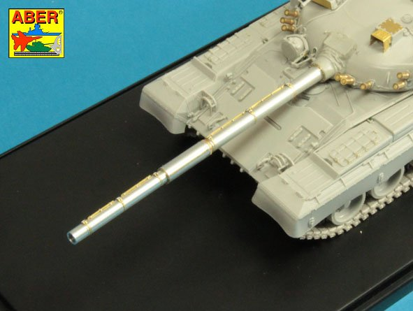 Aber 1/35 125mm 2A46M-2 Barrel for Russian Tank T-72B1;T-90; T-80B; T-80BV; T-80BVD # 35L147
