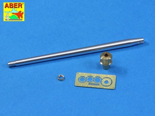 Aber 1/35 U.S. 76 mm M1A2 barrel with muzzle brake for Sherman M4A3E8 tank # 35L186