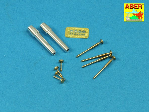 Aber 1/35 Gun Barrels for British WWI Tank Mk.V Male # 35L207
