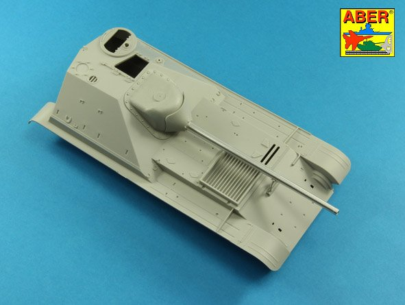 Aber 1/35 100 mm D-10S barrel for Soviet SU-101 # 35L219
